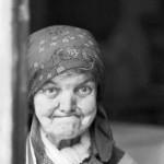 anziana donna di lipari
